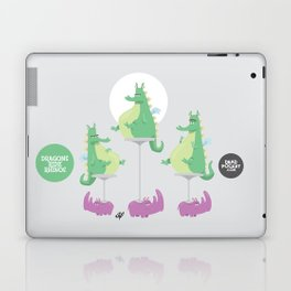 Dragons Ride Rhinos Laptop & iPad Skin