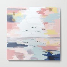 Soaring through colors Metal Print