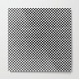 Beautiful Pattern #16 Triangles Metal Print