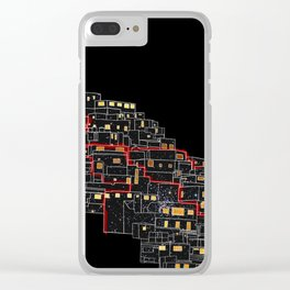 HeartBreakCity Clear iPhone Case