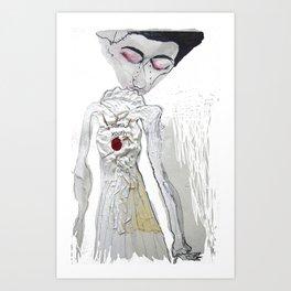 sonik youth Art Print