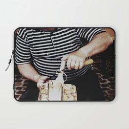 The artisan while working Laptop Sleeve