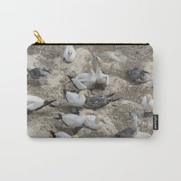 Gannets in a row Carry-All Pouch