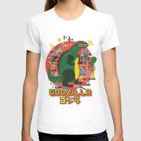 godzilla T-shirts featuring GODZILLA by Katboy 7