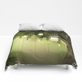Enchanted Forest Heart Tree Comforters
