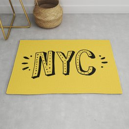 NYC lettering series: #2 Rug
