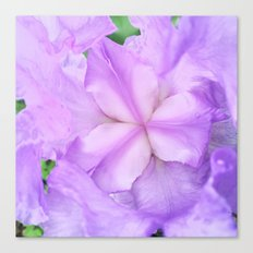 513 - Abstract Flower Design Canvas Print