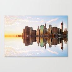 Reflection of Manhattan Canvas Print