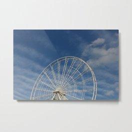 End of the Ferris Wheel Metal Print