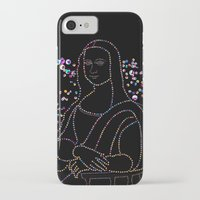 mona lisa iPhone & iPod Cases featuring Mona Lisa by Ornaart