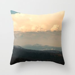 View From Music Farm Road Throw Pillow
