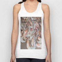large Tank Tops featuring Large shrimp by lennyfdzz