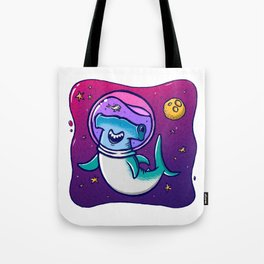Swimming Through the Cosmos Tote Bag