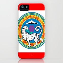 Flag of Almaty iPhone Case