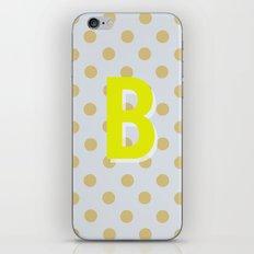 B is for Beautiful iPhone & iPod Skin