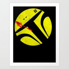 Who Watches the Bounty Hunters? Art Print