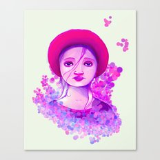 Sad Purple Canvas Print