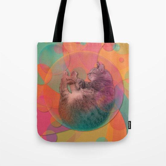 Kitty Cat Sweet Dream Tote Bag