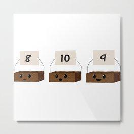 Brownie Points Metal Print