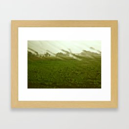 SunShower Framed Art Print
