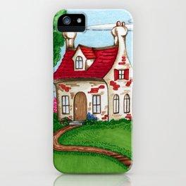 Hilltop Cottage iPhone Case