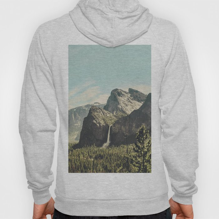 Yosemite Valley Waterfall Hoody