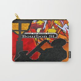 Bourbon St. Jazz Saxophone Player Carry-All Pouch