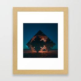 Hexohedronicon Framed Art Print