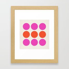 Spots Framed Art Print