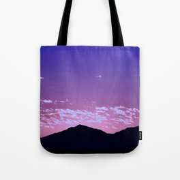 SW Mountain Sunrise - I Tote Bag