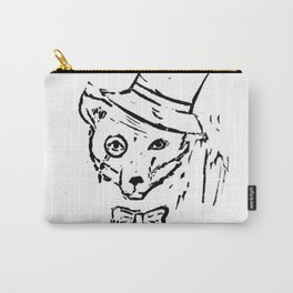 Fancy Fox Carry-All Pouch