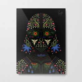 The Force is Strong With This One Metal Print