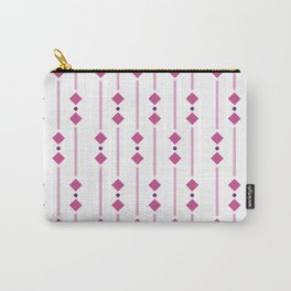geometric design pink rhombuses Carry-All Pouch