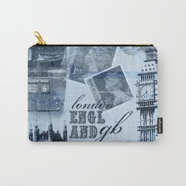 Anglophile Love Carry-All Pouch