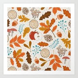 Autumn Woods Kunstdrucke