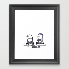 Playing NES Framed Art Print