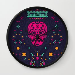 LOS MUERTITOS V01 Wall Clock