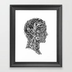 portrait of summer Framed Art Print