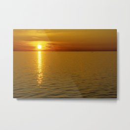 Swedish Sunset Metal Print