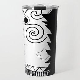 Mr Matuku (monochrome) Travel Mug