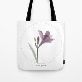 Lilium flower Tote Bag