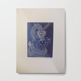 Draco constrictor (negative) Metal Print