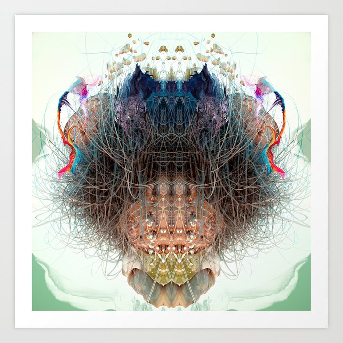 Somatic Particles Art Print