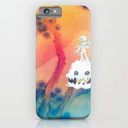 KidCudi Kid Man on the Moon Cudii Kid Cudii Poster Man on the Moon Kids See Ghosts iPhone Case