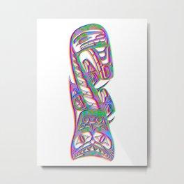 native american symbol 4 Metal Print