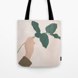 Holding the Branch Tote Bag