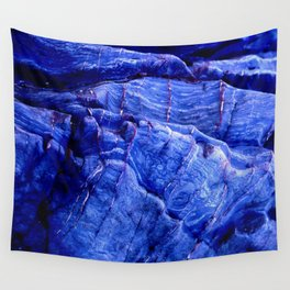 BLUE STONE TEXTURES Wall Tapestry