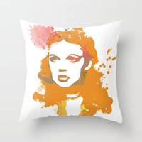 dorothy Throw Pillows featuring Dorothy by BIG Colours