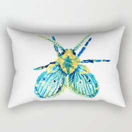 Drain Fly Rectangular Pillow