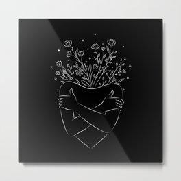 Self love blooming  Metal Print